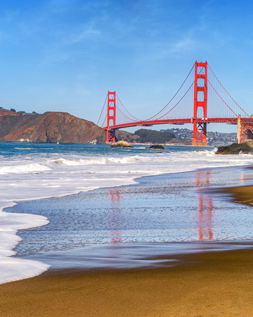 Golden Gate at Baker Beach LE