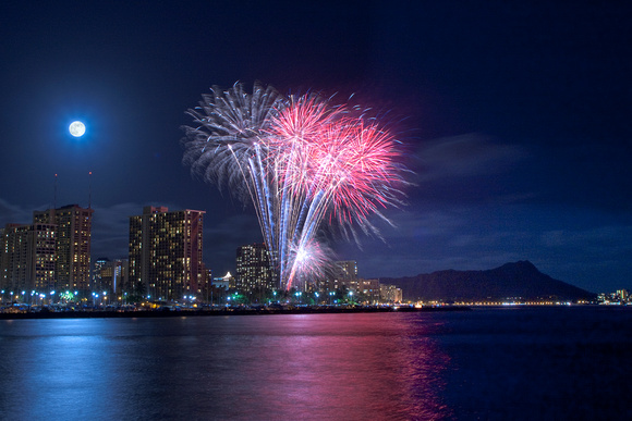 Once in a Blue Moon - Waikiki